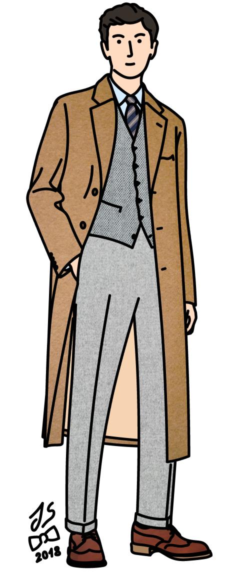 On voit de plus en plus de jeunes tenter de retrouver des manteaux à la bonne longueur en friperie.