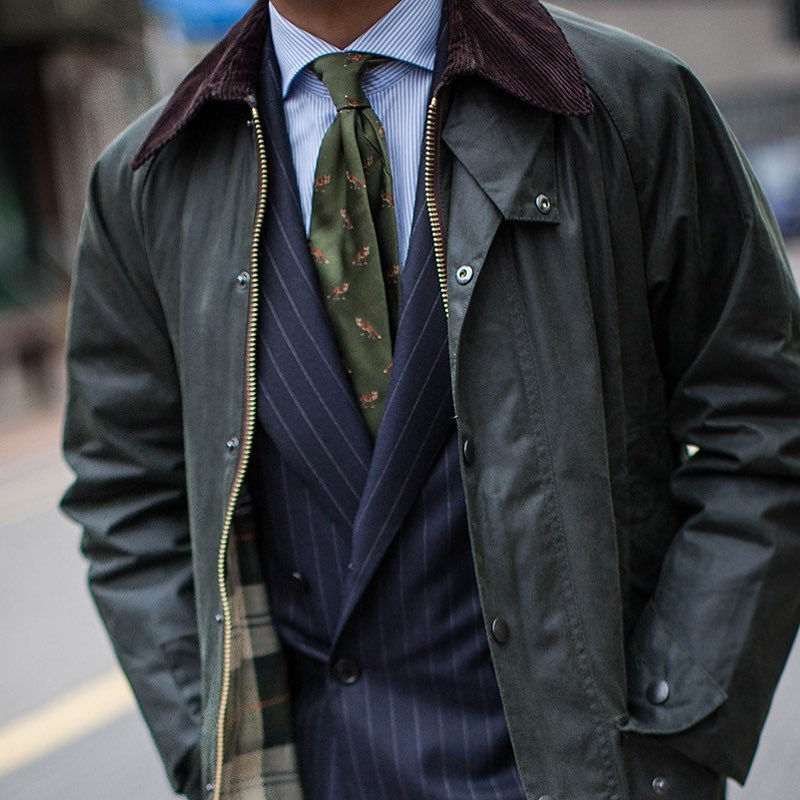 Barbour (source : B&Tailor)