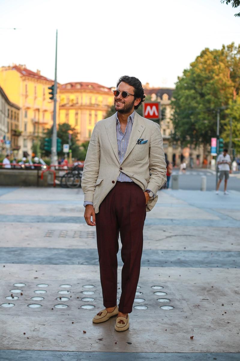 L'ampleur est maitrisée et le confort palpable, sur un plan esthétique cela permet de remplacer facilement une veste d'ouvrier ou un petit blouson type harrington. Source : Fabio Attanasio