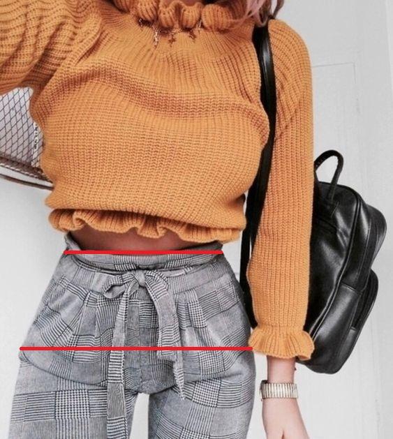 Chez les femmes la taille marquée accentue le ratio hanches/taille en général élevé. C'est comme ça qu'elles vous maraboutent avec leur taille haute H&M en polyplouc.