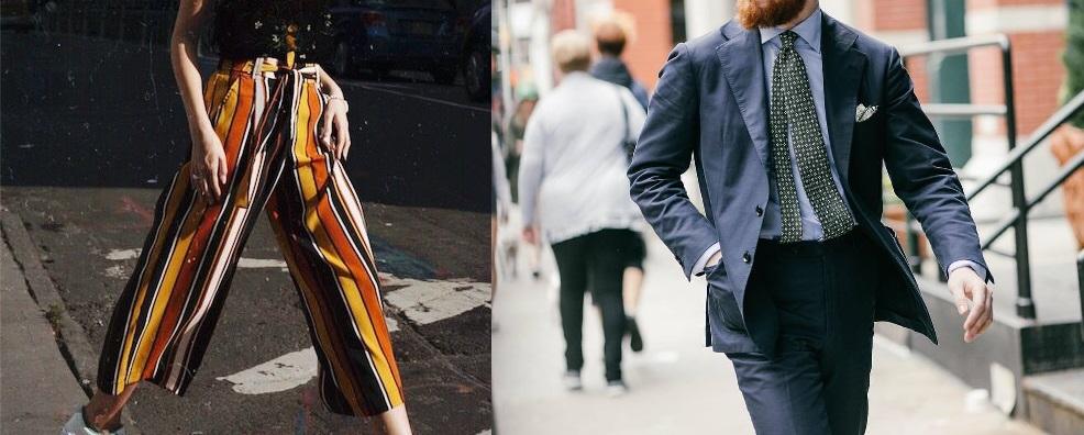 Une taille marquée peut à contrario renforcer une allure androgyne chez une femme étroite de bassin et féminiser un <del>gros lâche</del> homme sans carrure. On peut corriger le premier cas avec des coupes amples plus féminines (proches des jupes en fait), et le second avec des vestes au montage épaule structuré.