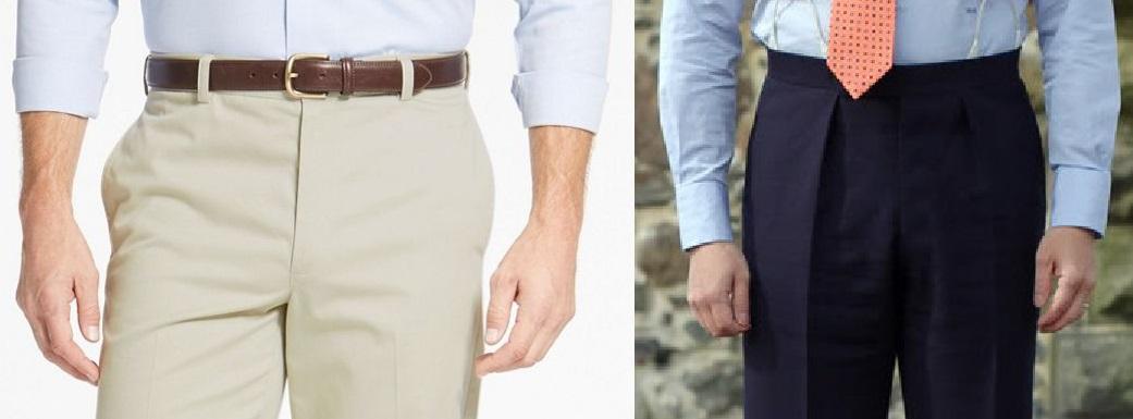 Si le pantalon tire trop au niveau du tour de fesse les poches s'ouvrent (comme ici à gauche) et créent un effet disgracieux.