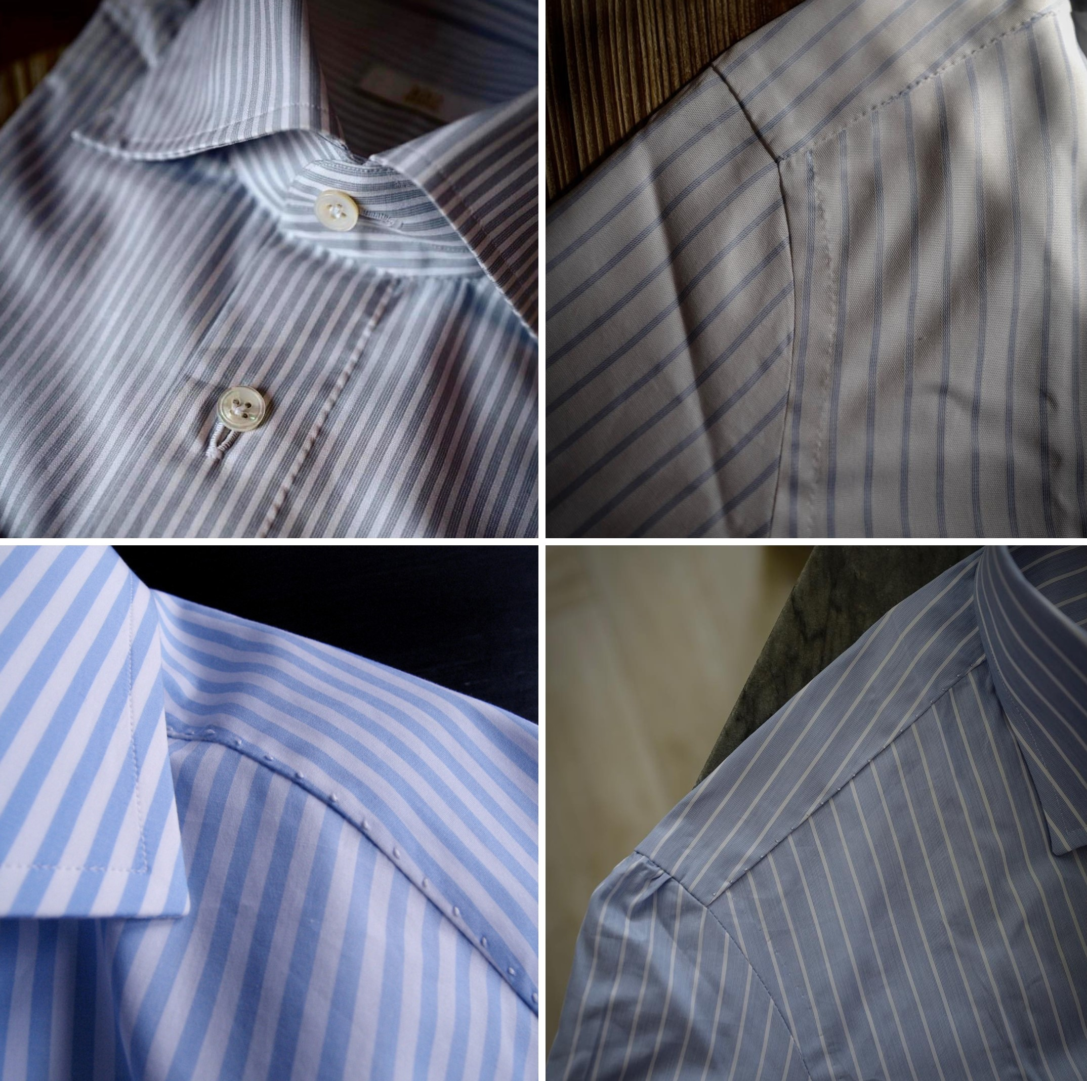 Plus le nombre de piqûres par centimètre est élevé, plus la chemise est durable et résistante.