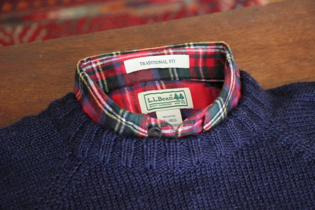 chemise flanelle pull