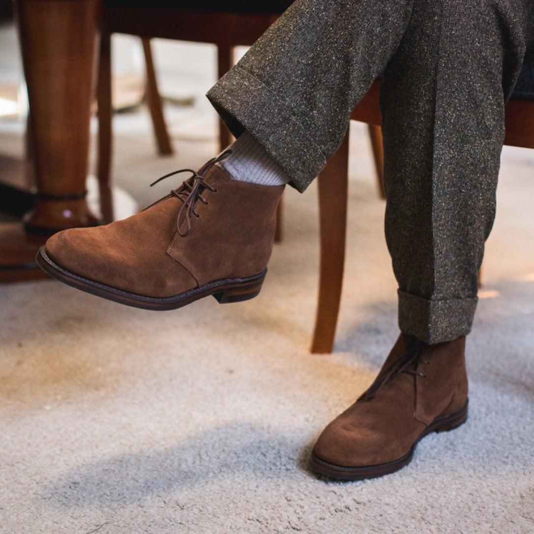 Sinon la chukka est une bottine classique à la mode. Source : StreetxSprezza