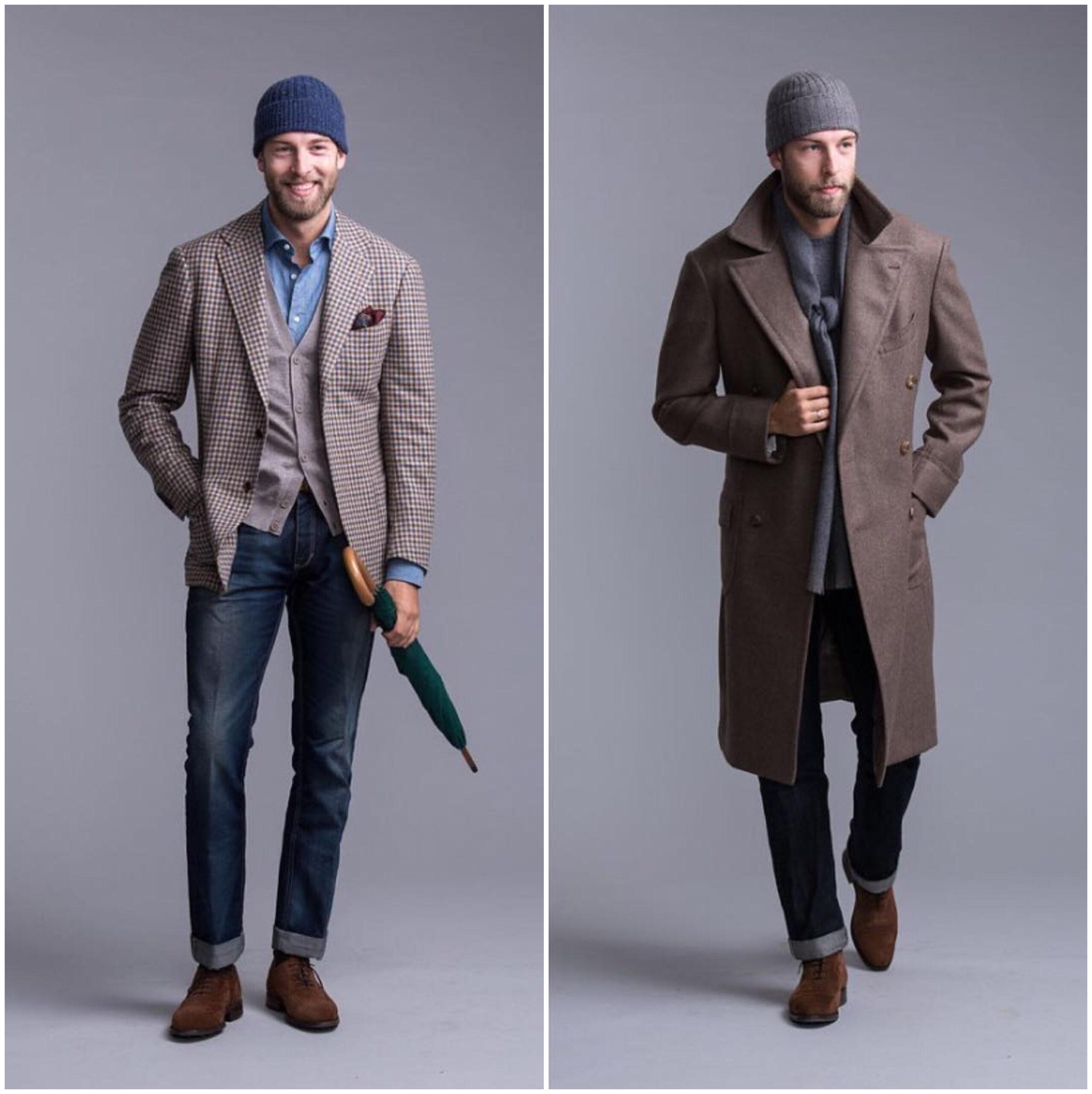 Le jeans permet de porter très facilement des hauts et chaussures plus formels. Source : Andreas Weinas