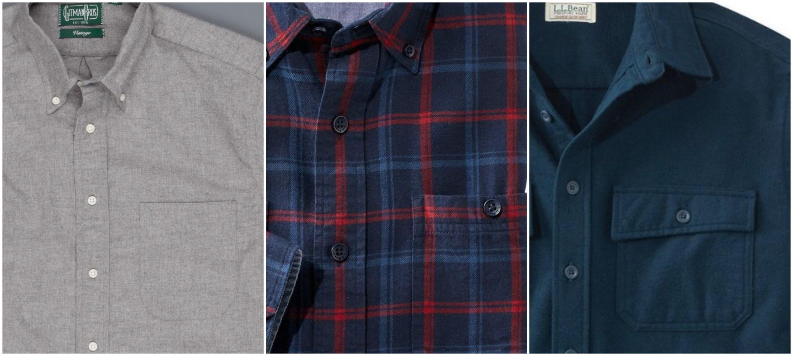 La poche de poitrine (toujours une poche plaquée) peut être -du moins au plus décontracté- simple, boutonnée, ou à rabat. On évitera de porter en ville la poche à rabat, résolument beaucoup trop sport.