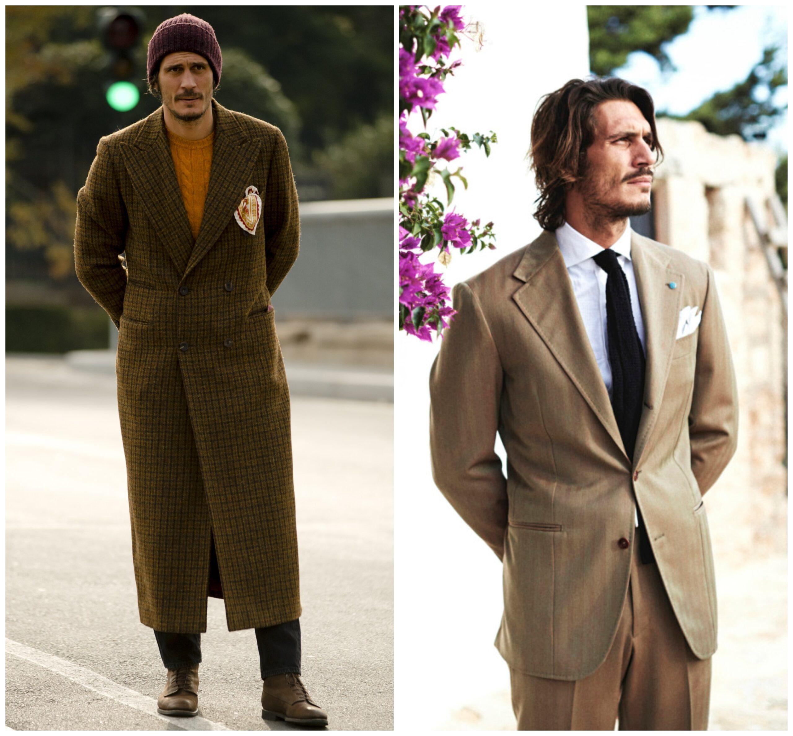 Le manteau est complèment raté. Pourtant le type a un bon physique.