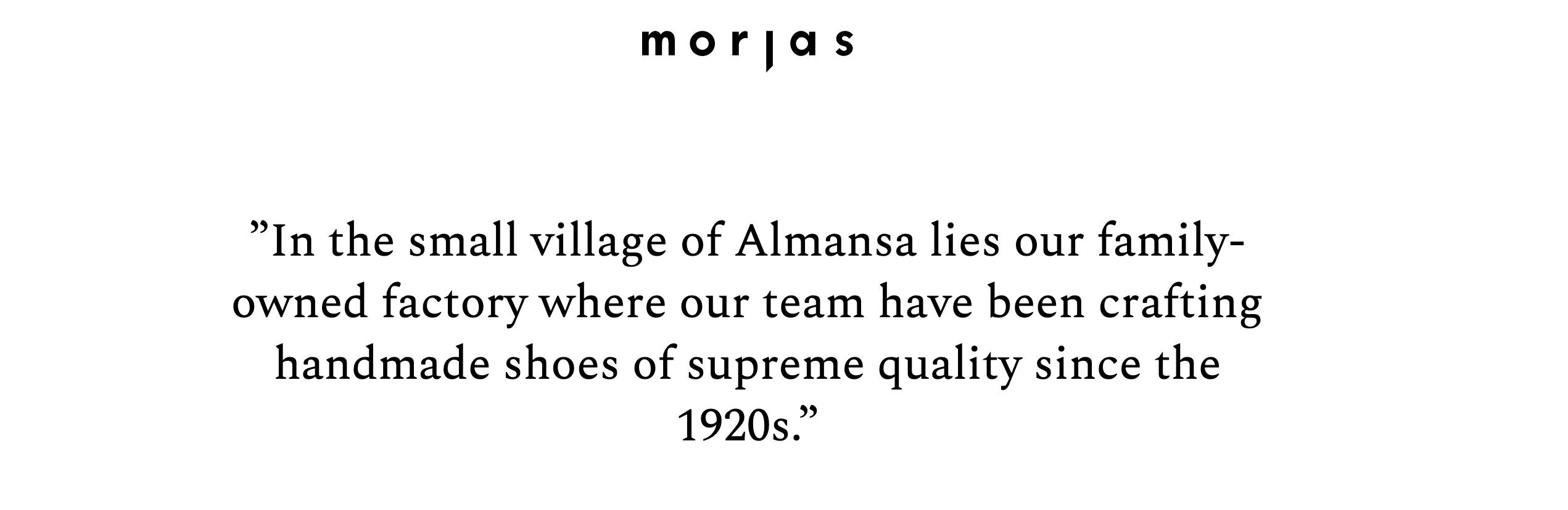 """Morjas, la marque d'entrée de gamme Suédoise qui fait fabriquer """"à la main"""" chez Sendra. (source : morjas)"""