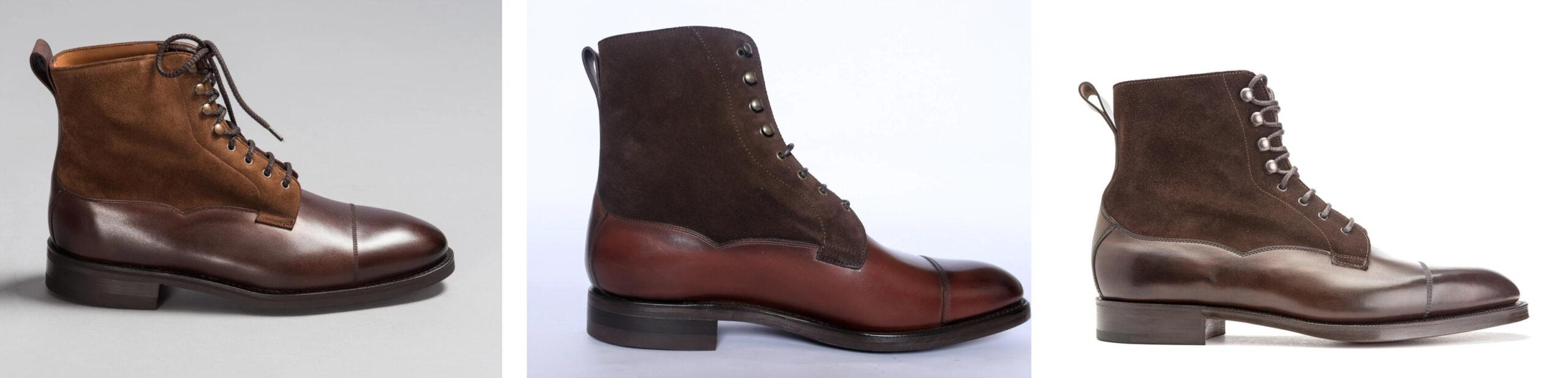 Un problème d'inspiration dans le monde de la chaussure ? La Galway est le modèle originel. (source: lof&tung, carlos santos, edward green).