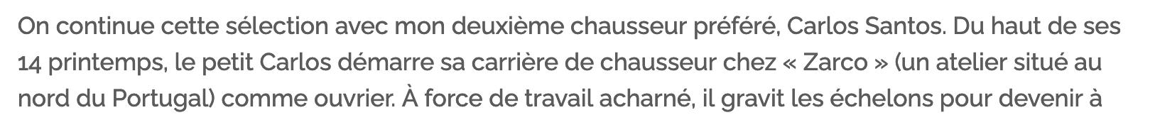 """L'histoire de Cosette Santos et de son """"atelier"""" selon la légende officielle. (source : comme un camion)"""