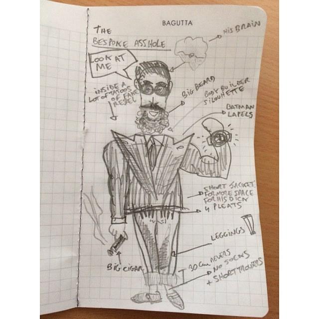 L'art des proportions selon le sartorialiste Instagram. (source: gentleman chemistry)