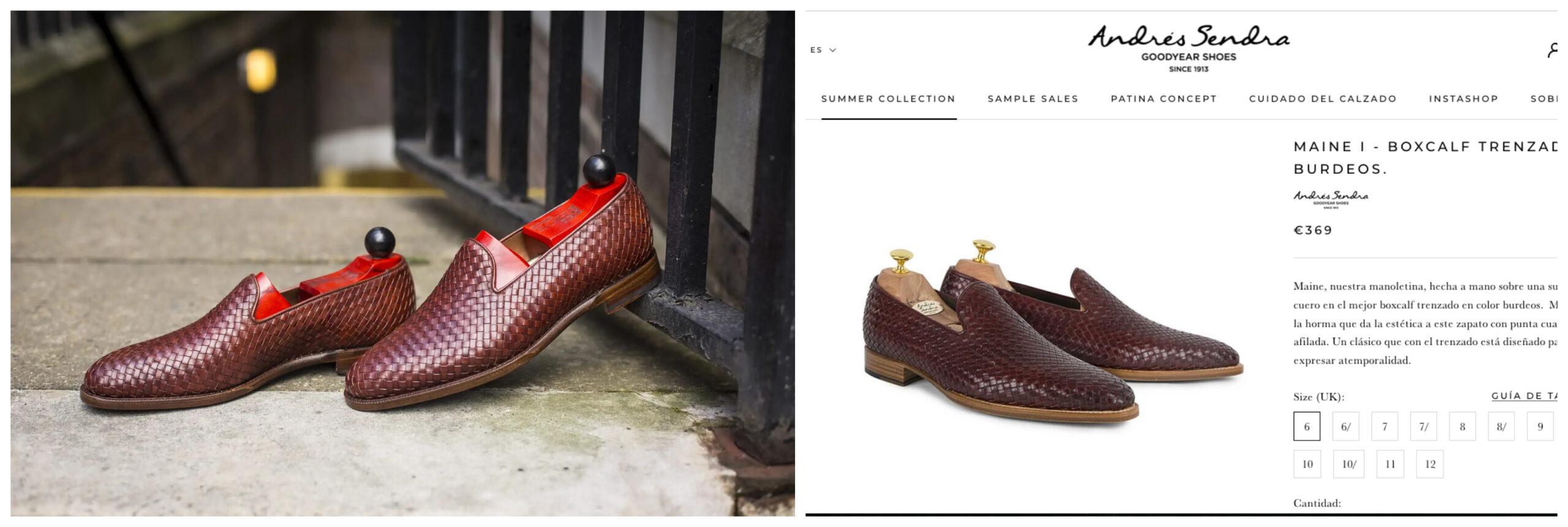 JFtizpatrick shoes Andres Sendra