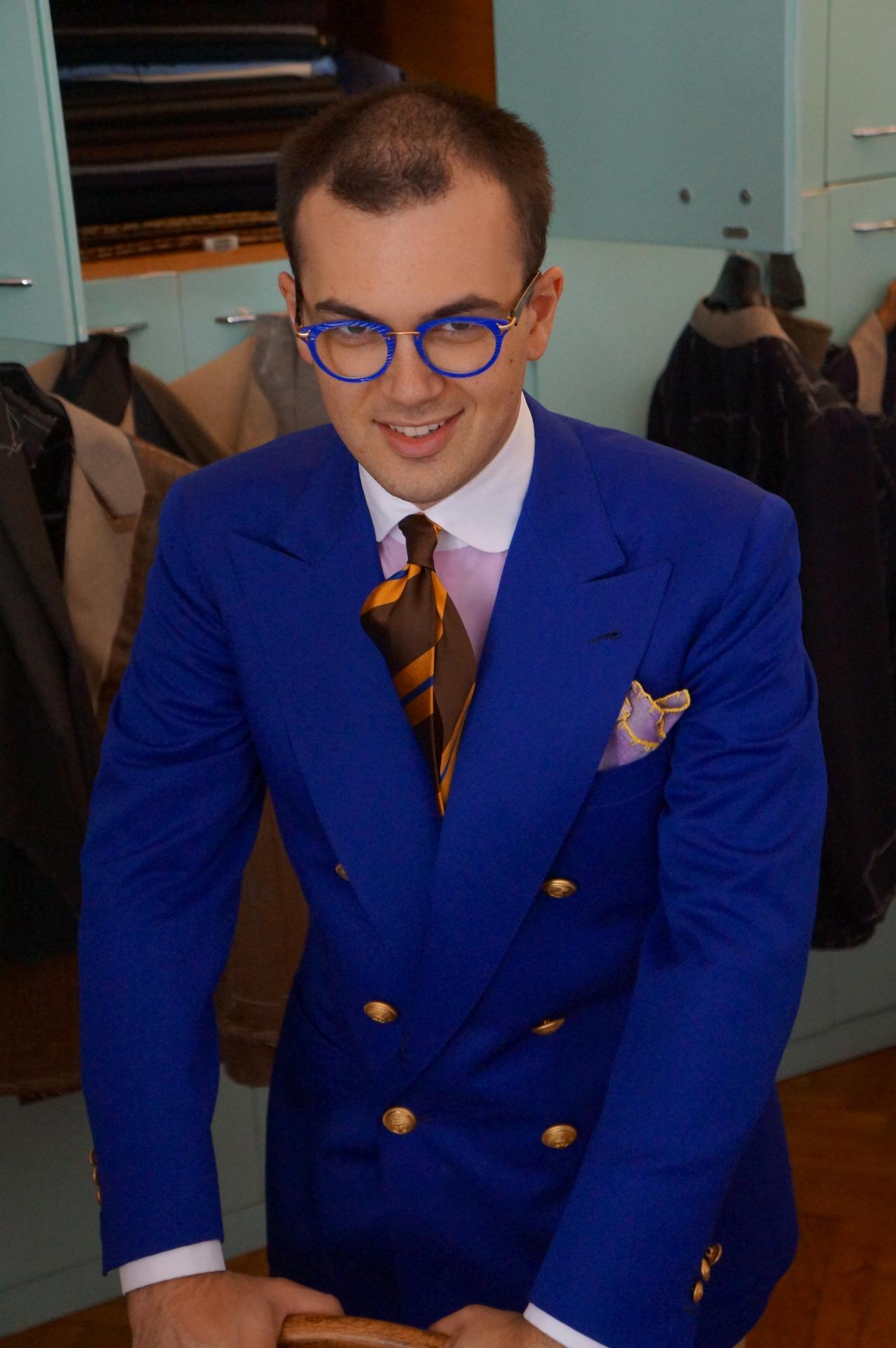 Le protagoniste principal de cette sombre affaire, signore Gianni Cerruti, cravatier dilettante et mythomane patenté. (Source: Musella Dembech Milano)